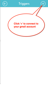 LIFTTT connect Gmail
